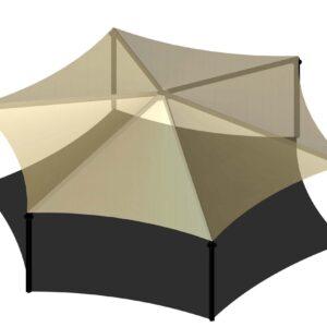 Hexagon Shade